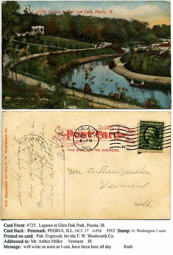 Peoria's Glen Oak Park, A.D. 1912