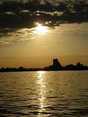 Sunset over Lake Ontario, Toronto