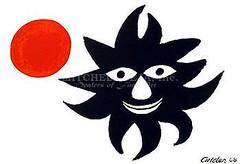 Sun and Moon -Calder