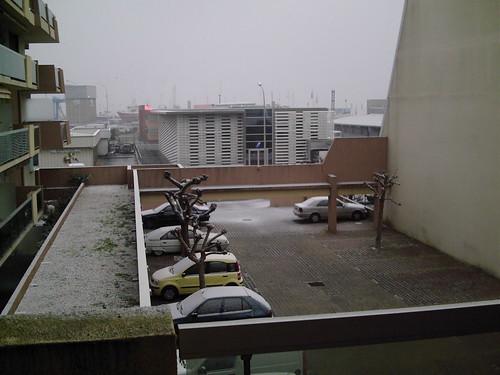 Un peu de neige.