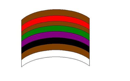 4 Official Geocache Color Logo Stickers 3.25 x 3.25