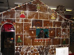 Gingerbread House at The Bay