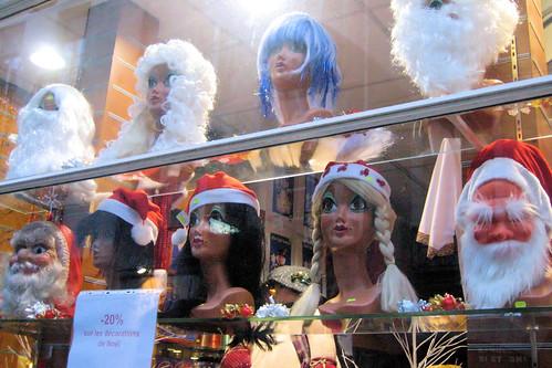 Christmas Heads // Têtes de Noël
