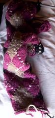 argyle scarf as of 11th Dec 2006