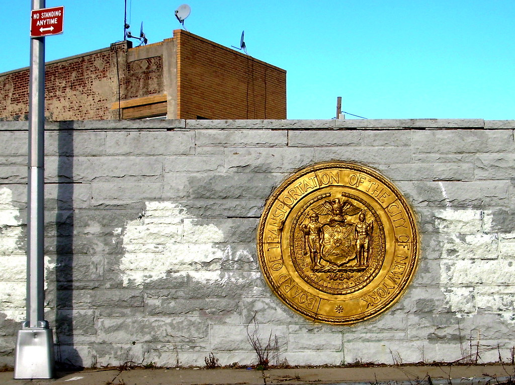 subway wall, east new york