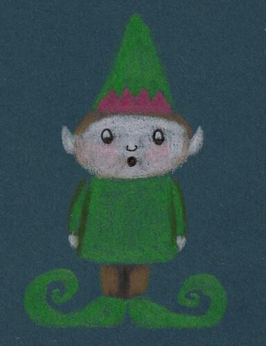 Shoegazing Elf