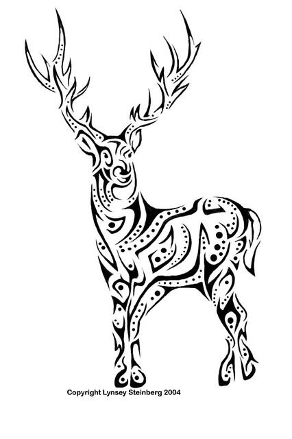 White Stag Tattoo Flickr Photo Sharing Pictures