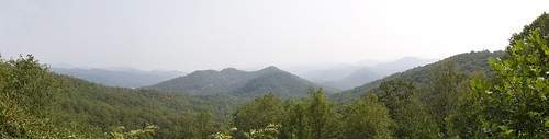 Cowee Overlook Panorama