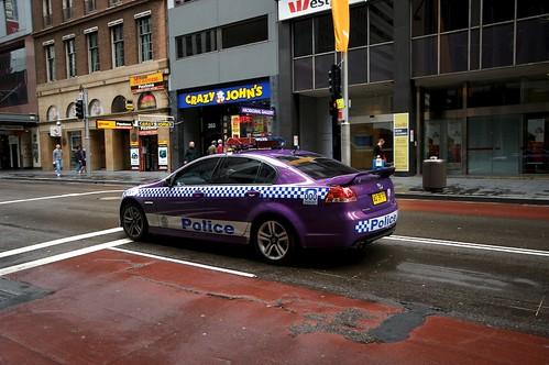 purple police