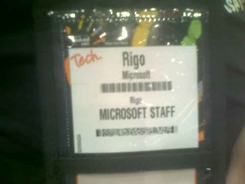 Rigo at teched