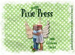 Pixie Grape press