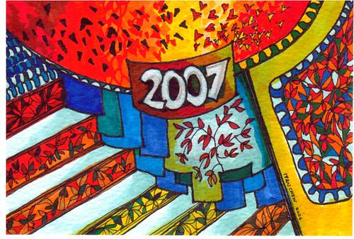 Postcard 2007 series - 1b