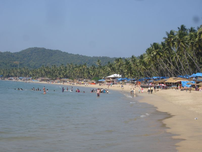 The beach at Palolem - Web-site quality photo