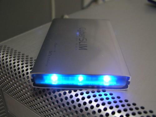 HITACHI_5K160G_SATA_開機後藍光顯示