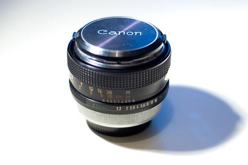 canon FD55mm f1:1,2