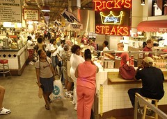 Reading Terminal Market, interior