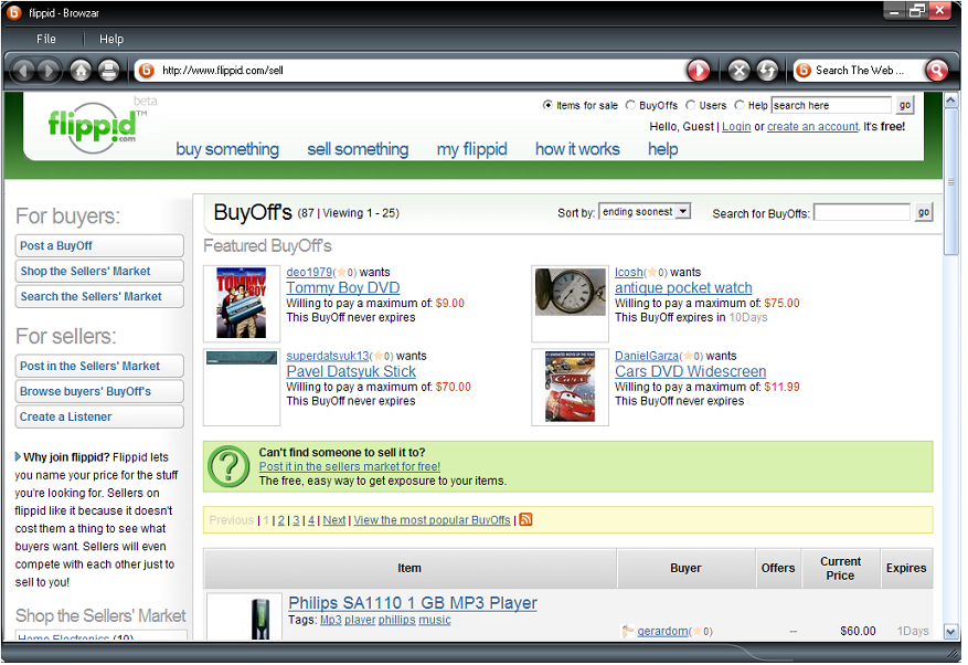 Flippid A Reverse Ebay