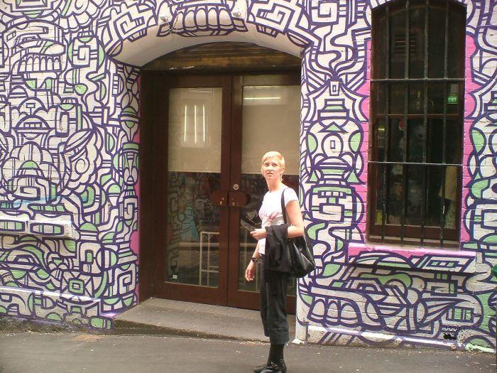 Lulu and street art