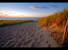 Cape Cod: Race Point Sunset at Provincetown. photo by Chris Seufert