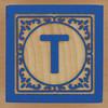 Block Letter T