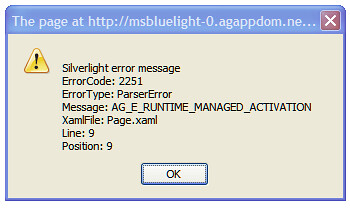Silverlight-1.1-NotInstalled
