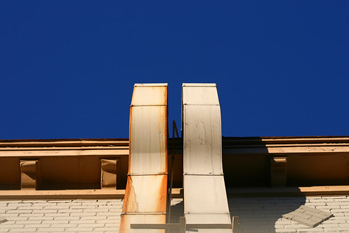 Roof And Sky 0955