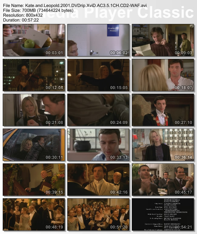 Kate.and.Leopold.2001.DVDrip.XviD.AC3.5.1CH.CD2-WAF