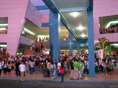 Back of Mall of Asia