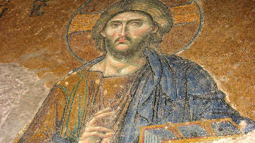 mosaico en Santa Sofia
