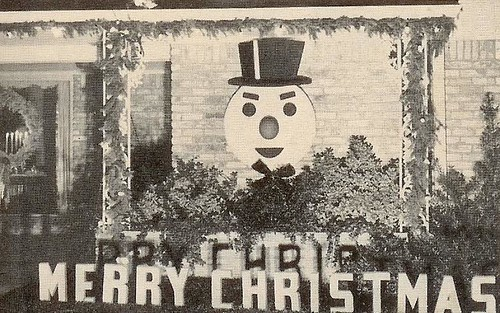snowman wall 1954