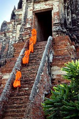 Wat Chaiwatthanaram Temple, Ayutthaya, Thailand photo by ascendent