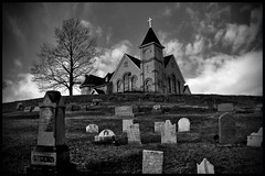 Church Atop A Hill photo by Marc_714