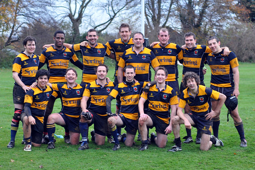 The Gargoyles (2nd XV) vs. Old Merchant Taylors November 2010