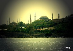 Sultanahmet Mosque & Ayasofia,Istanbul photo by *Saariy*