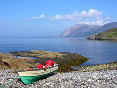 Summerday by the fiord of Tana - Arctic Norway photo by elysea100