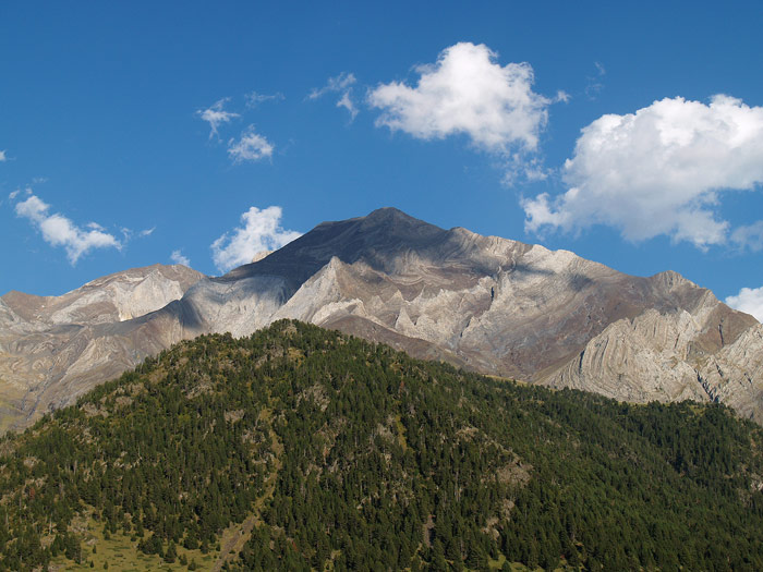 Llardana: la montaña pintada.