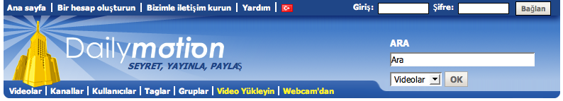 Dailymotion Turkish