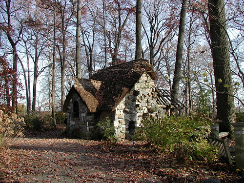Stone Cottage In The Woods As the center of what passes
