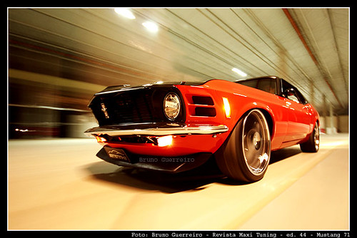 Ensaio Mustang - Capa Maxi Tuning - jan/07