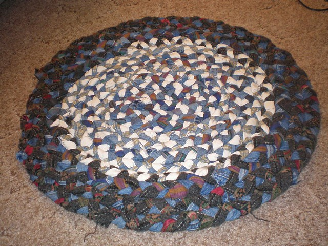 Rustic Braided Rag Rugs - Homestead Weaving Studio