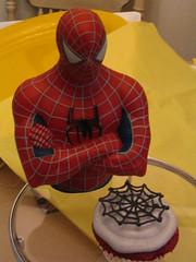 Spiderman Cupcake photo by CupcakeDD