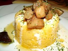 Bauletto di polenta al tartufo