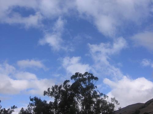 Blue sky at last