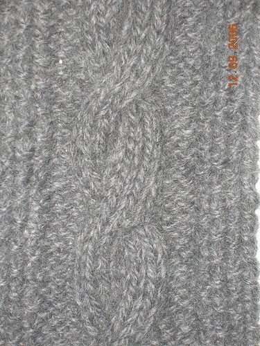 Cable Class Scarf
