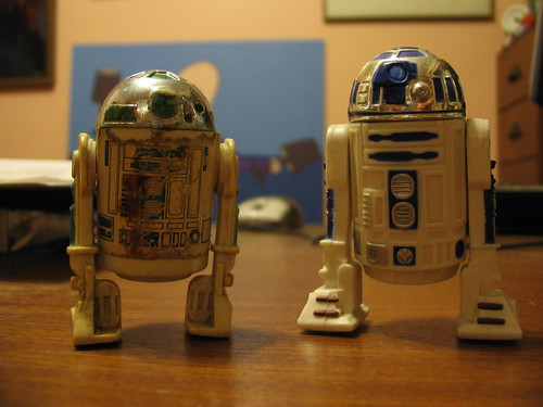 R2D2s old and new