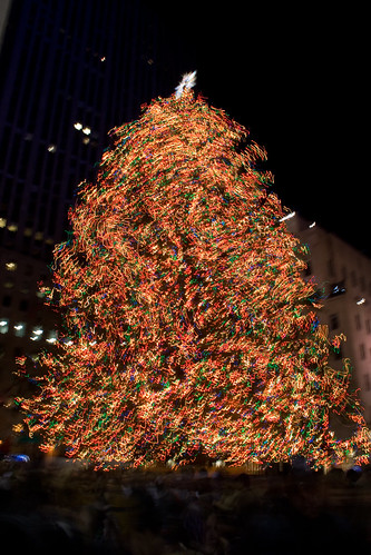 The Dance of the Rockefeller Christmas Tree Lights