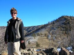 Ann on Black Powder Trail