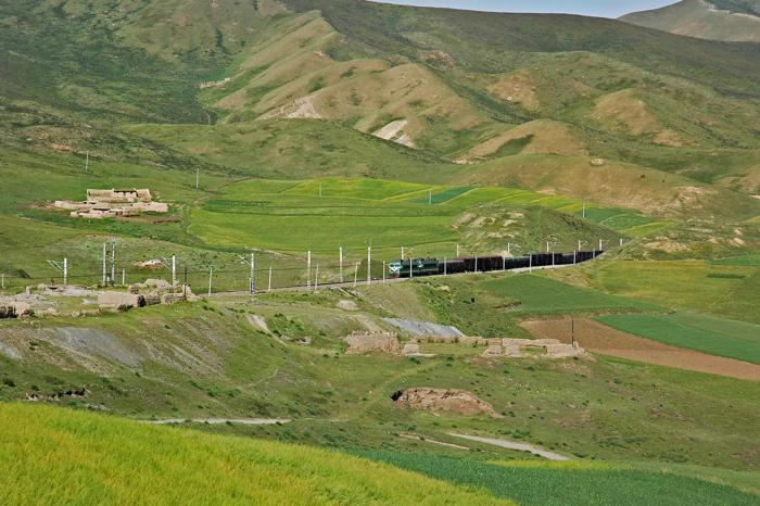 高原上的火車