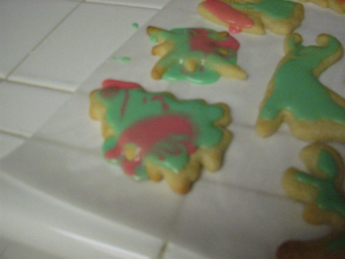 klassy christmas cookie decorations