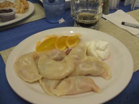 Arbat cherry dumplings